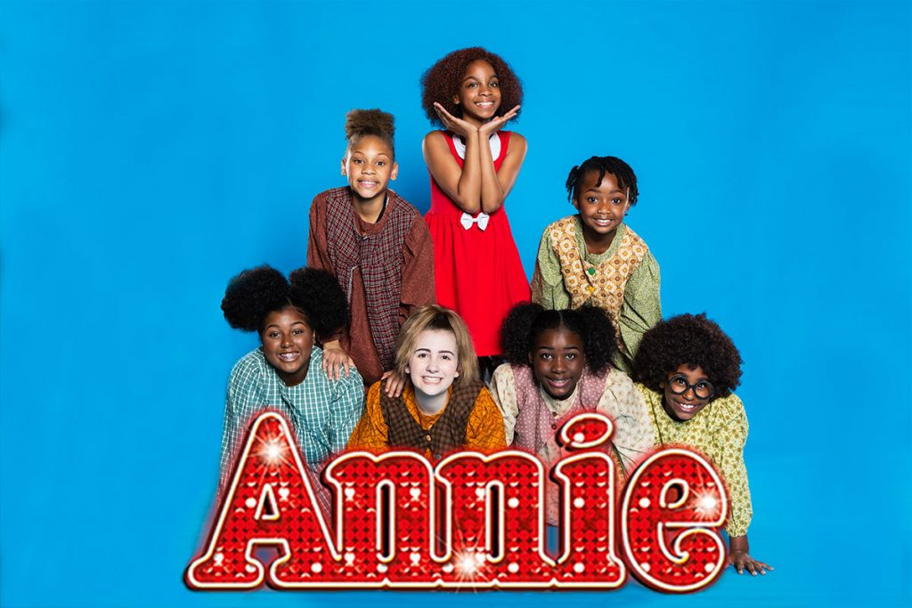 new Venture Theatre presents annie